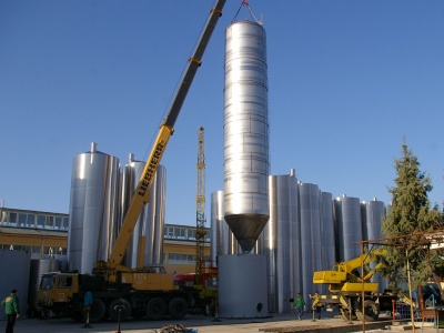 BBT - bright beer tank