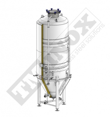 CCT - cylindro - conical fermentation tanks
